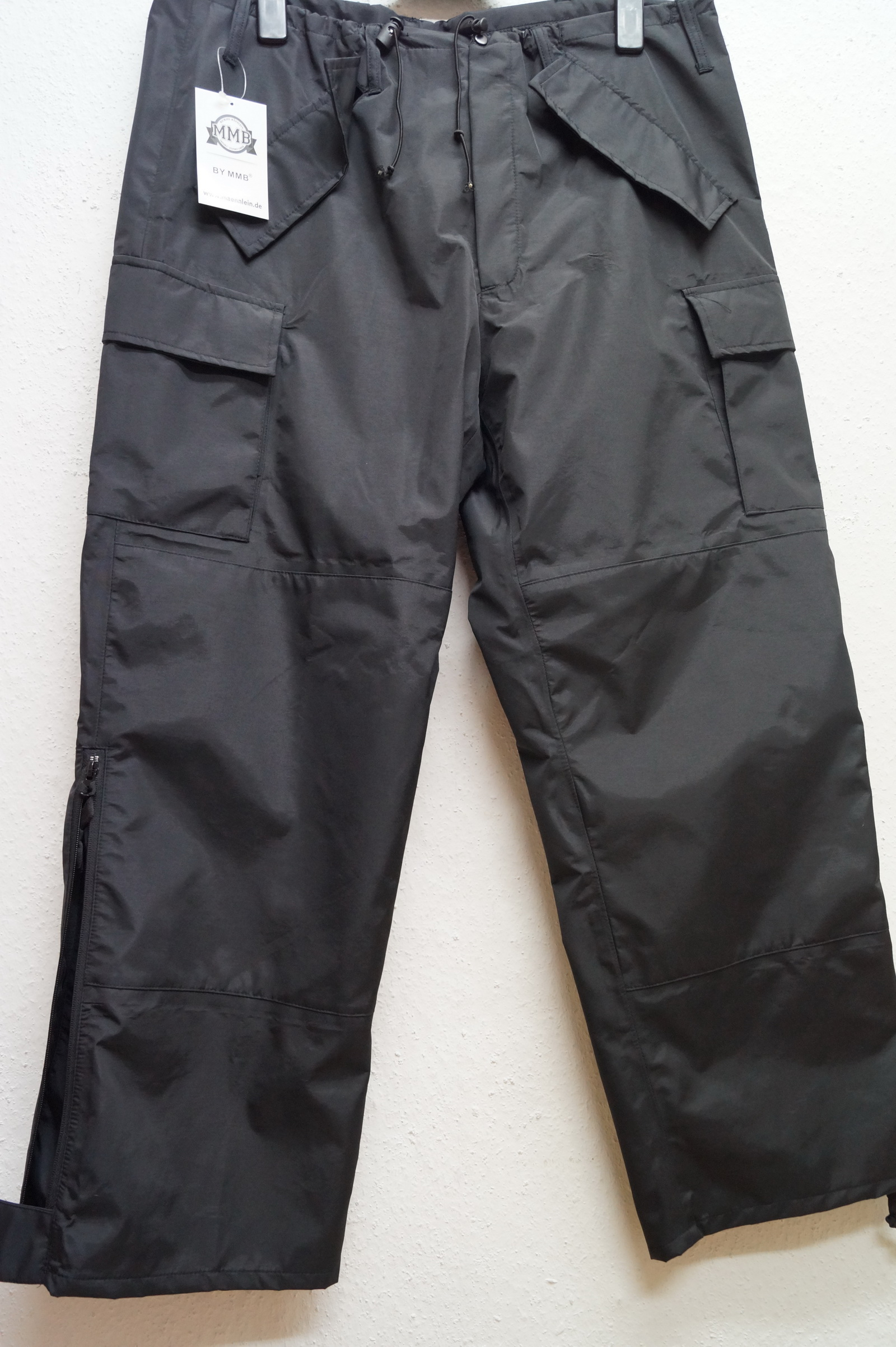 Hose Nylon Wetterfest US-Pant Cold-Weather schwarz Gr.M